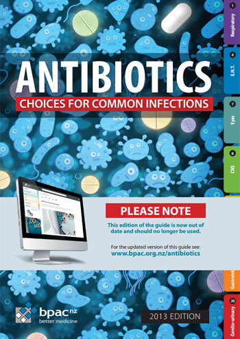 نتيجة بحث الصور عن ‪Antibiotics Guide Choices for Common Infections 2013‬‏