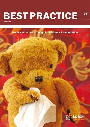 Cough in children - BPJ29 July 2010